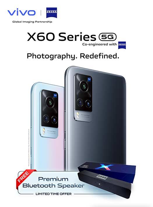 Vivo X60 5G blind preorder details and freebie via Revu Philippines