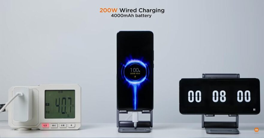 Xiaomi HyperCharge 200W wired and 120W wireless charging technology via Revu Philippines