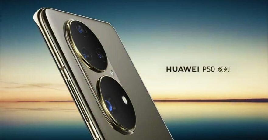 Huawei P50 series teaser video via Revu Philippines
