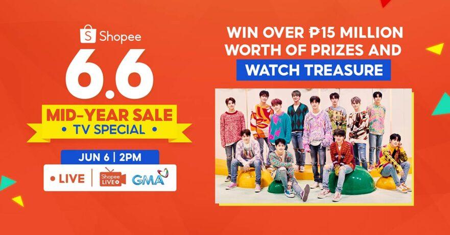 Shopee 6.6 Mid-Year Sale TV Special via Revu Philippines