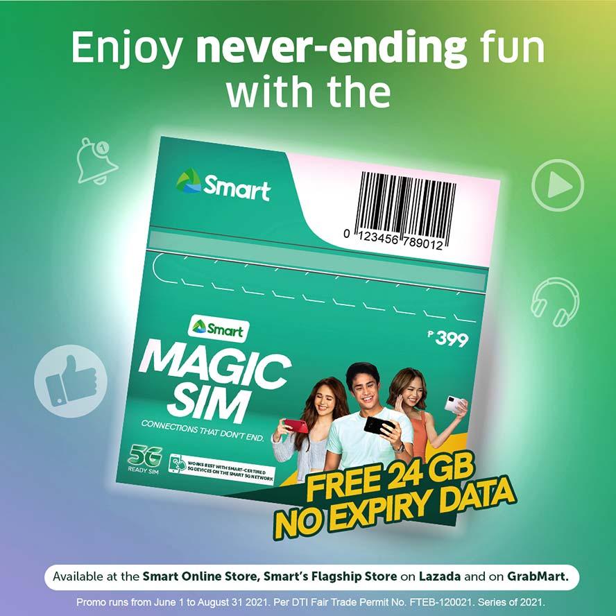 Smart Magic SIM card details via Revu Philippines