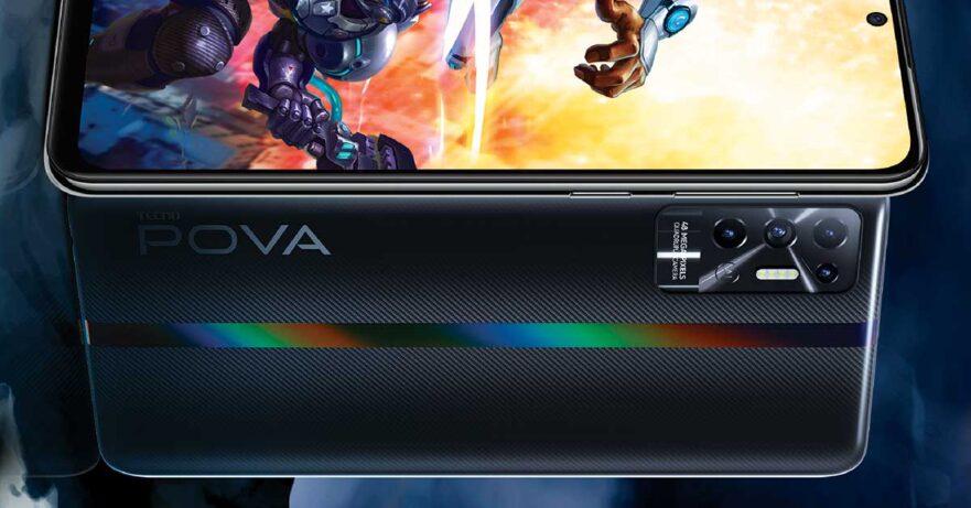 Tecno POVA 2 price and specs via Revu Philippines
