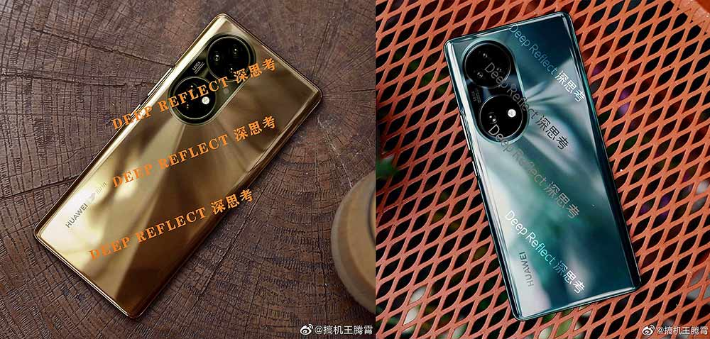 Actual Huawei P50 series phones picture leak via Revu Philippines