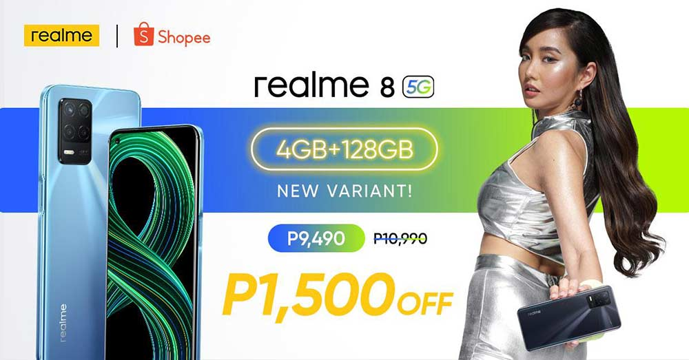 Cheaper Realme 8 5G price, specs, and promo with Alodia Gosiengfiao via Revu Philippines