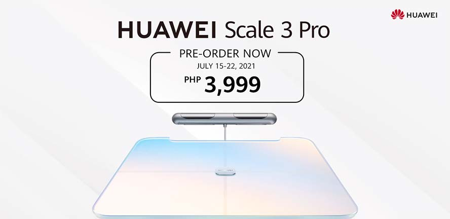 Huawei Scale 3 Pro price and preorder details via Revu Philippines