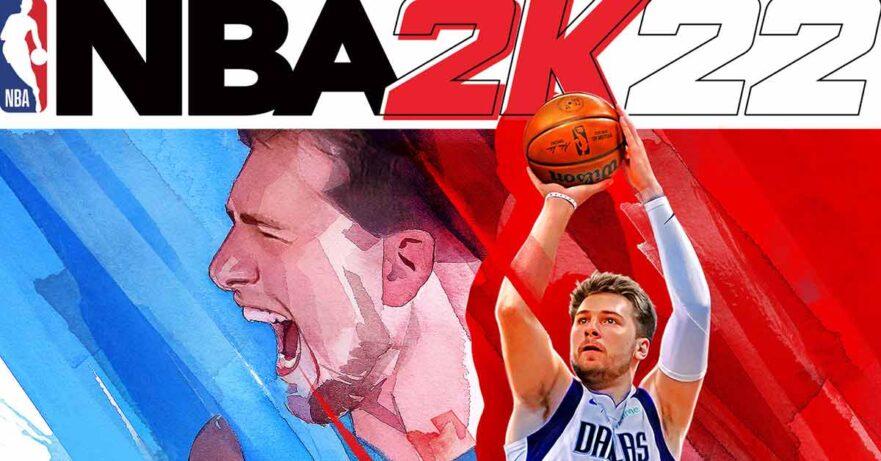 NBA 2K22 Luka Doncic cover via Revu Philippines