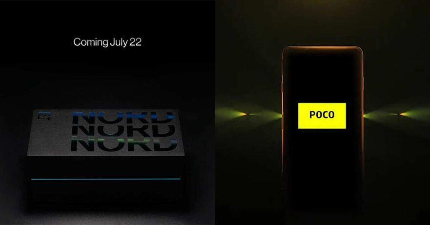 OnePlus Nord 2 5G and POCO F3 GT launch teasers via Revu Philippines