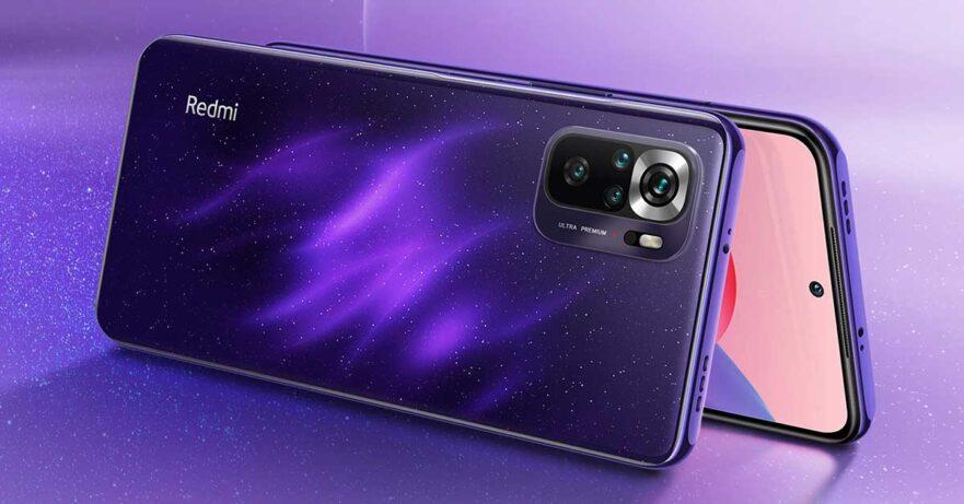 Redmi Note 10S Starlight Purple color price and specs via Revu Philippines