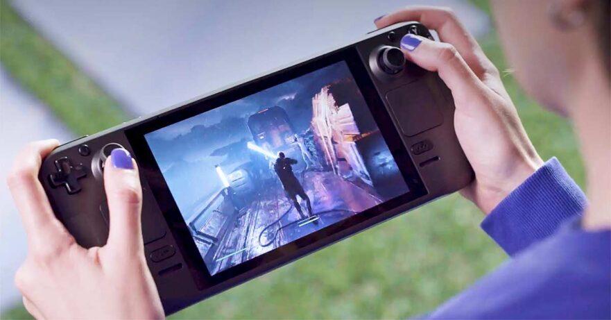 Valve Steam Deck handheld gaming system price and specs via Revu Philippines