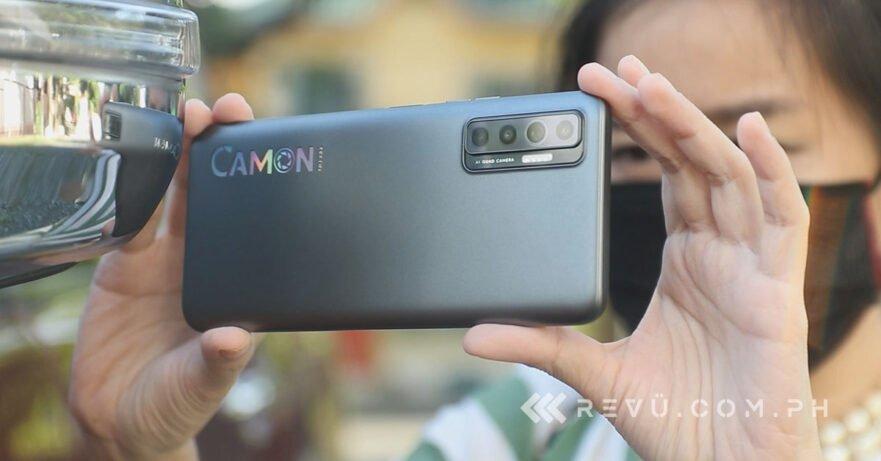 Tecno Camon 17P review, price, and specs via Revu Philippines