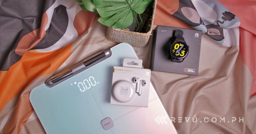 Huawei Watch 3 and Huawei FreeBuds 4 and Huawei Scale 3 Pro top features reviewed by Revu Philippines