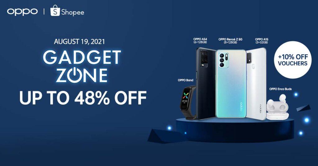 OPPO Philippines sale every Shopee Gadget Zone Tech Thursdays via Revu Philippines