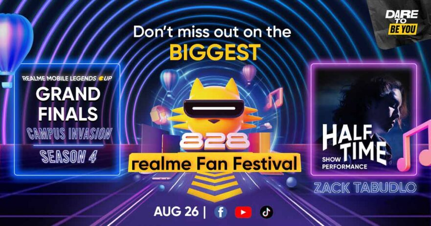 Realme Mobile Legends Cup Finals details via Revu Philippines