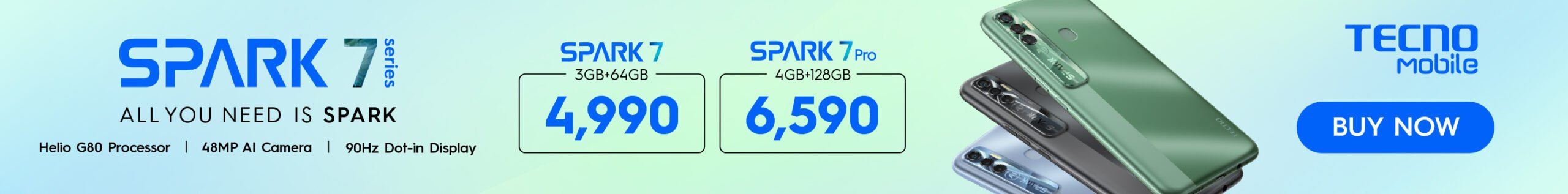 Tecno Spark 6 Go changed to Camon 17 06/29 to Spark 7 Pro 08/18