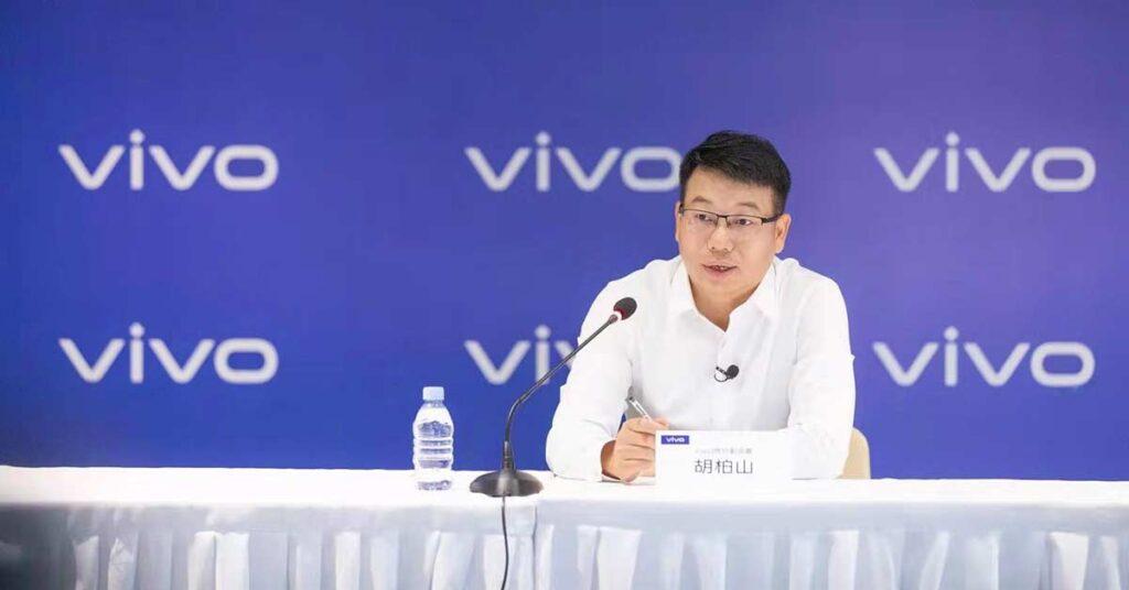 Hu Baishan of Vivo HQ via Revu Philippines