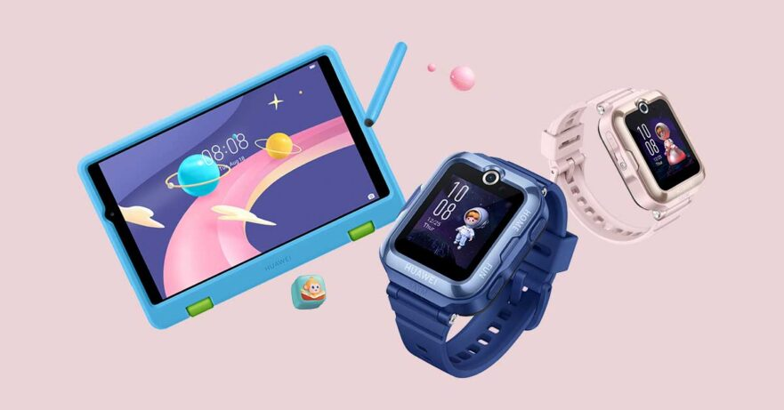 Huawei MatePad T 8 Kids Edition and Huawei Watch Kids 4 Pro price and specs via Revu Philippines