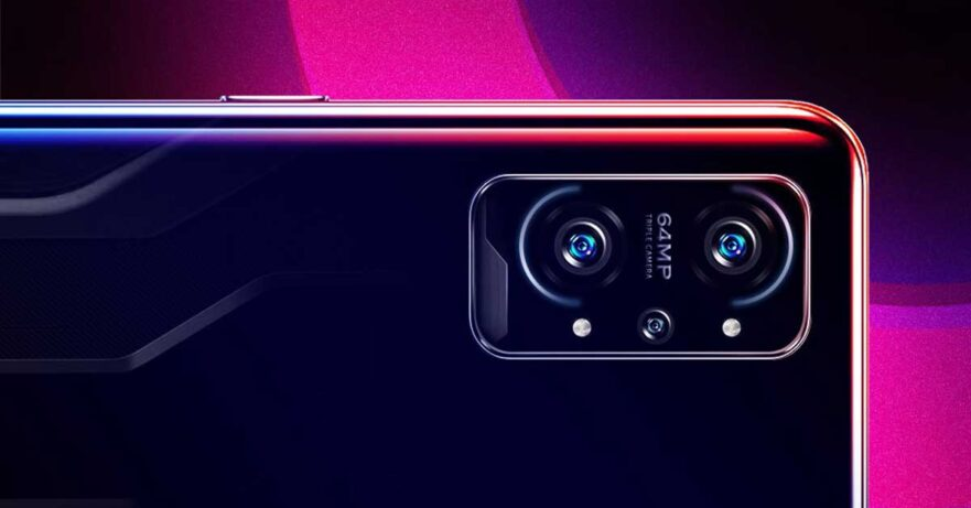 Realme GT Neo Gaming or Realme GT Neo2 design in leaked poster via Revu Philippines