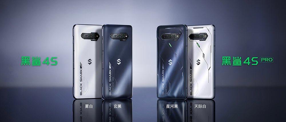Black Shark 4S and Black Shark 4S Pro price and specs via Revu Philippines